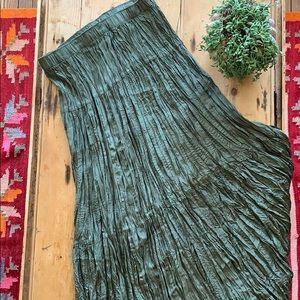 100% Silk Spenser Jeremy Maxi Skirt